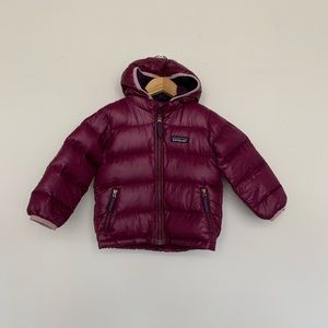 Patagonia Baby Hi-Loft Down Sweater Hoody 12-18 m